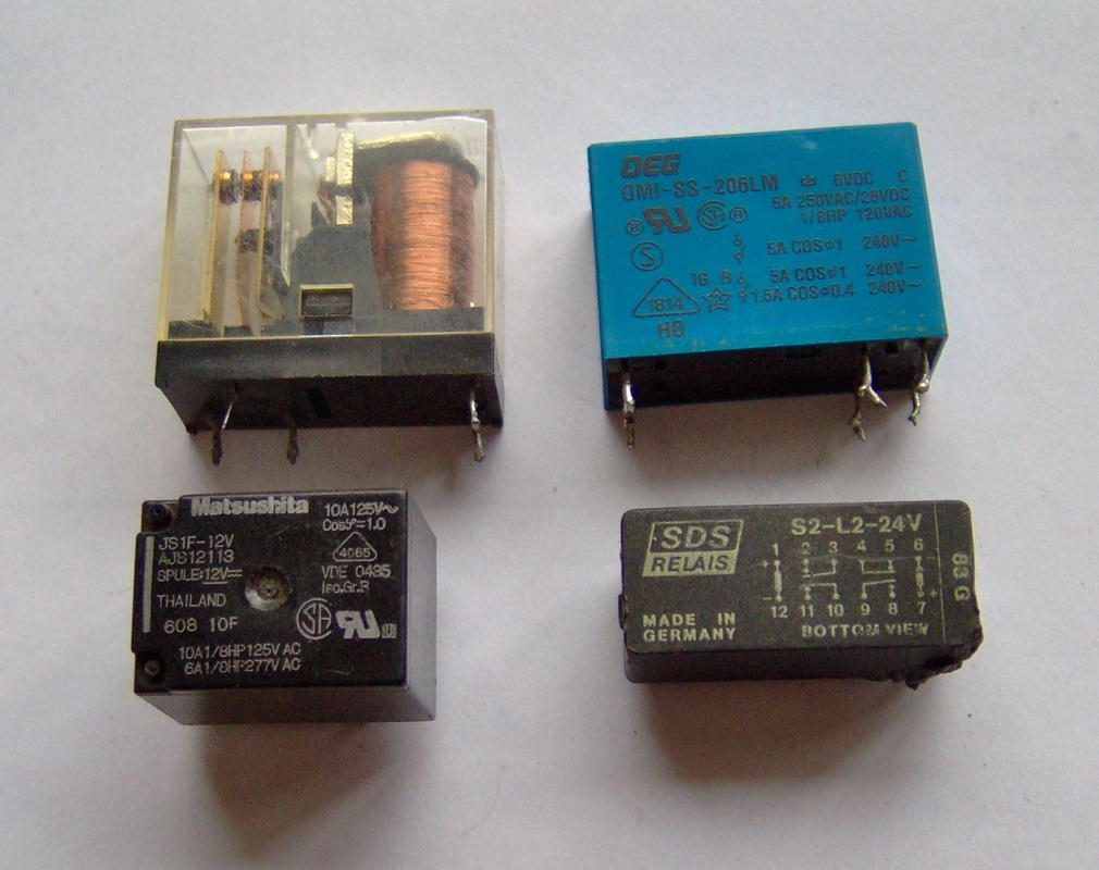 Types Of Relays What Are Current Relay Explained